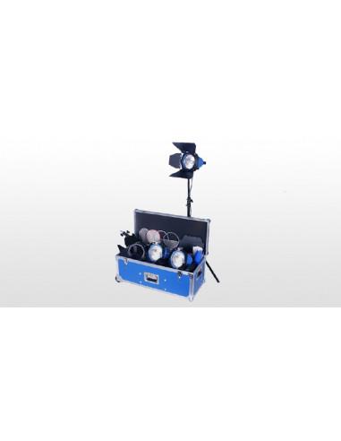 Arri zestaw oświetleniowy: 3 lampy Arrilite 750 Plus (750 W / 230 V), walizka, bez złącza