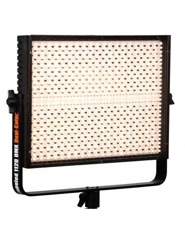 Lampa panelowa DMX Dual Color LED 1120, od 5600°K do 3200°K