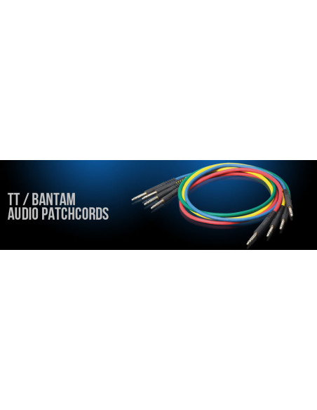 Kabel patchcord bantam Switchcraft TT6BKX