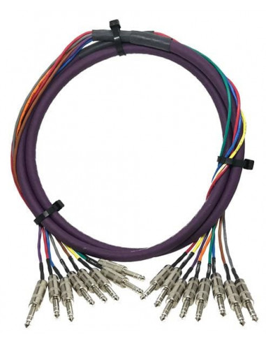 Kabel multicore audio 8-kanałowy Switchcraft TRS05TRS