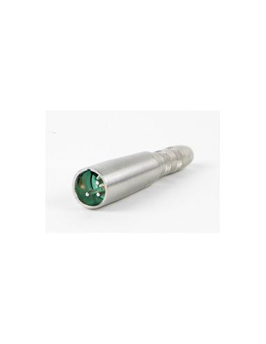 """Adapter - wtyk 3-pinowy XLR do gniazda 1/4"""" TRS stereo jack, 384AX"""