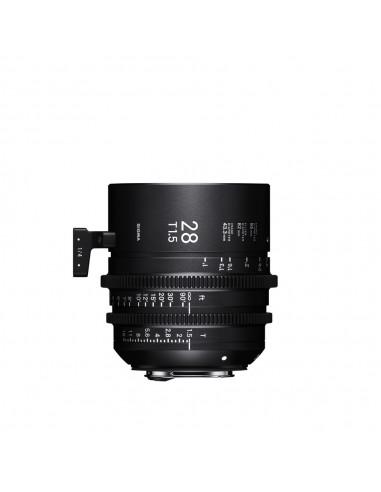 Obiektyw Sigma Cine 28mm T1.5 PL