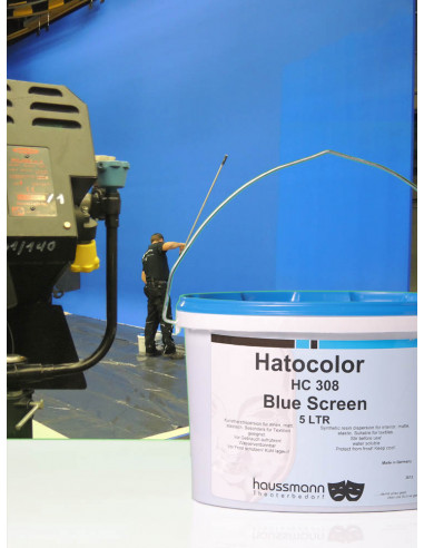 Haussmann farba do Blue Box, Blue Screen, Chroma Key